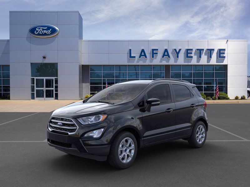 New 2020 Ford EcoSport SE $0 down, $282/month after factory rebates, including $500 military