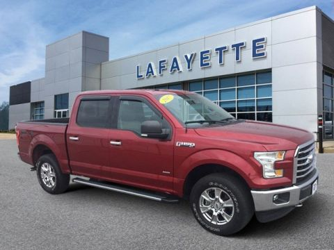 Pre-Owned 2017 Ford F-150 XLT CRW 4WD